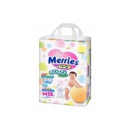 Трусики Merries Мериес  6-10 кг. 58 шт. (M) 382207