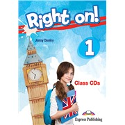 Right on! 1. Class CDs (set of 3) (international). Аудио CD для работы в классе