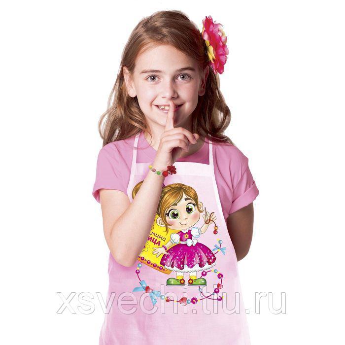"""Набор детский Collorista """"Мамина умница"""" фартук+доп.элементы, текстиль, бумага, пластик"""