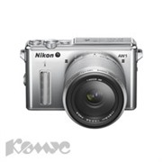 Фотоаппарат Nikon 1 AW1 SL Kit 11-27,5mm silver