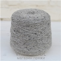 Пряжа Твид Soft Donegal Полярная сова 5229, 95м в 50 г. Knoll Yarns, Eske