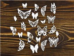 Набор бабочек