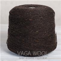 Пряжа Твид-мохер Фундук 2707, 200м/50г Knoll Yarns, Mohair Tweed, Chestnut