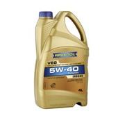 Моторное масло для газового двигателя RAVENOL VEG SAE 5W-40 (4л)