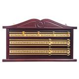 Доска счетная для снукера (махагон), интернет-магазин товаров для бильярда Play-billiard.ru