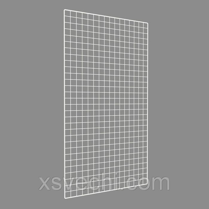 Сетка торговая, окантовка - 8мм, пруток - 4мм, 1500*800мм, белый