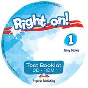 Right on! 1. Test booklet CD-ROM (international).  Сборник тестовых заданий CD-ROM