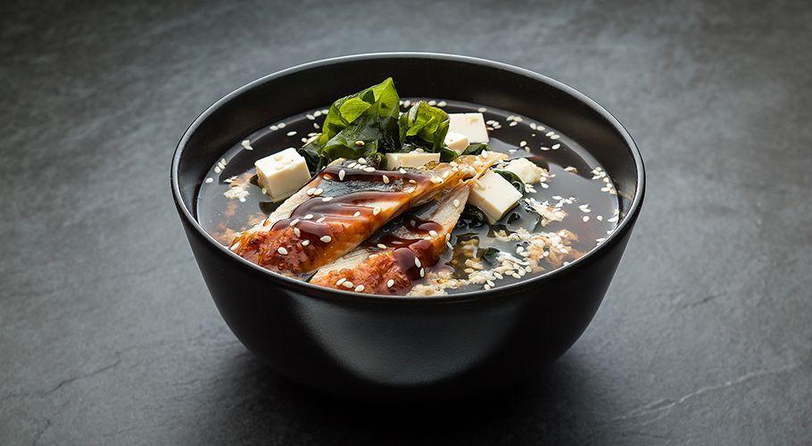 Суп с Угрём (Унаги)