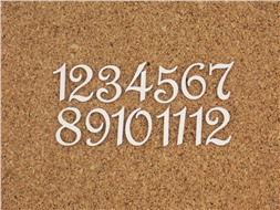 Набор цифр от 1 до 12 (1)