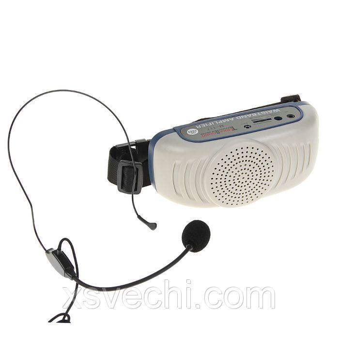 Мегафон поясной TerraSound М-117, 7 Вт, AUX