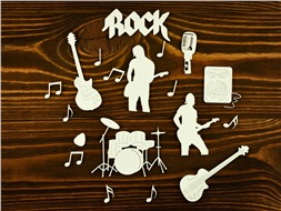 Набор Рок-музыка