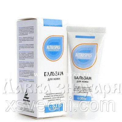 Бальзам для кожи «AltaiSPAS» против аллергических проявлений
