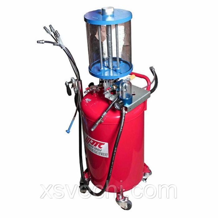 Приспособление JTC, JTC-1537, для откачивания технических жидкостей 12 л, емкость бака 80л