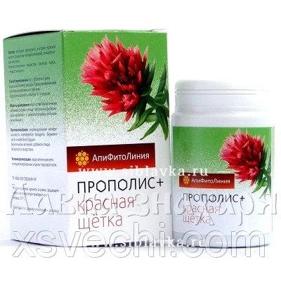 Апифитокомплекс «Прополис + Красная щетка» общеукрепляющий
