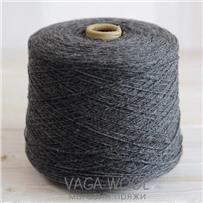 Пряжа Pastorale 03 Графит 175м/50гр., шерсть ягнёнка, Vaga Wool