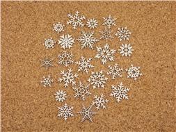 Набор чипбордов Снежинки