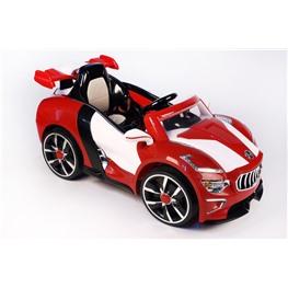 Электромобиль Maserati A222AA (кожа), красный