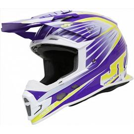 Шлем кроссовый ALS1.0 фиолетовый 2XL