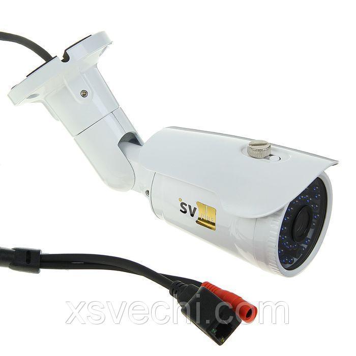 Видеокамера IP уличная SVplus SVIP-432, 2.1 Мп, 1080 Р, ИК 25 м