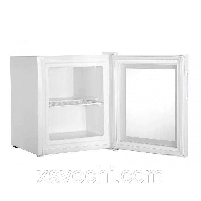 Морозильный шкаф Gemlux GL-F36W, витринного типа, 36 л, подсветка, белый