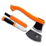 Набор Morakniv Outdoor Kit Orange нож Mora 2000 + топор (12096)
