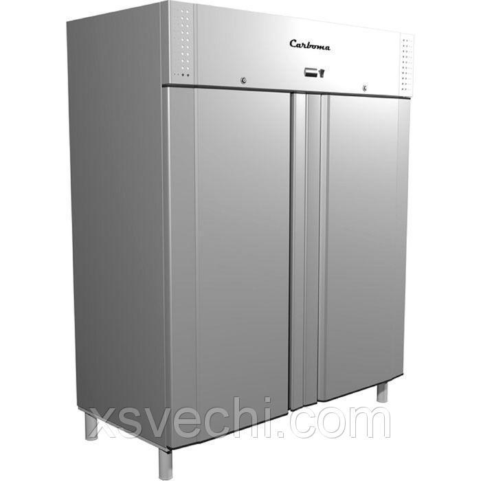Шкаф холодильный Carboma R1400, 1400 л, глухие двери