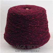 Пряжа Kilcarra tweed  бордовый 4644 , 80м в 50 г