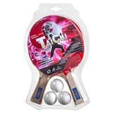 Набор для настольного тенниса «Taichi», (2 ракетки, 3 мяча), для интенсивных тренировок, интернет-магазин товаров для бильярда Play-billiard.ru
