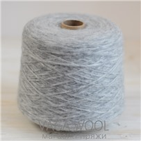 Пряжа Puno Light Светло-серый, 130м/50г, Lama Lima
