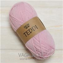 Пряжа Teddi, Розовый нежный 17905, 110м в 50г, альпака, Перу