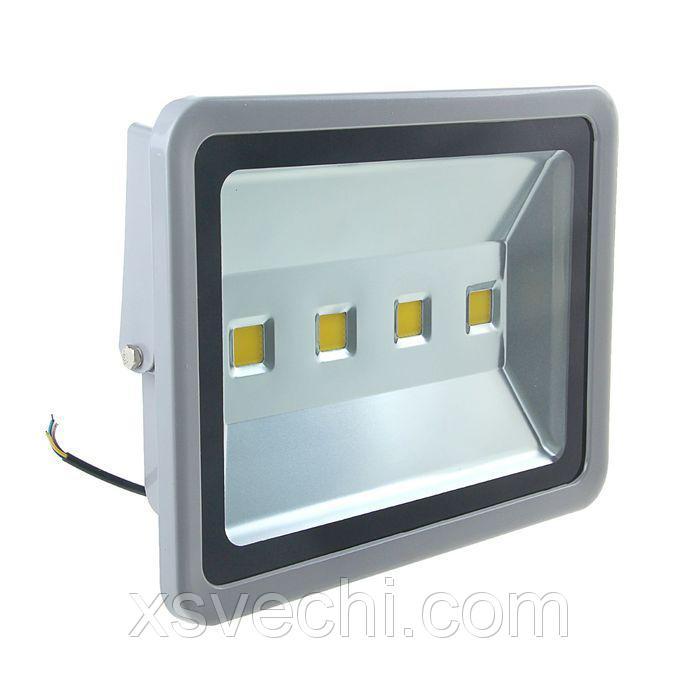 Прожектор светодиодный серия SLIM 200W, IP66, 18000Lm, 4000К БЕЛЫЙ ТЕПЛЫЙ