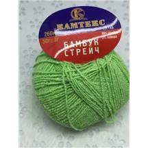 Бамбук стрейч №026 (салат) В упак. 10 шт