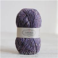Пряжа Lama Tweed Лиловый 6466, 100м/50г, CaMaRose, Lilla