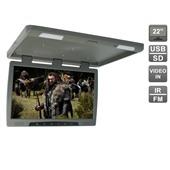 """Потолочный автомобильный монитор 22"""" со встроенным медиаплеером AVIS Electronics AVS2220MPP (серый)"""