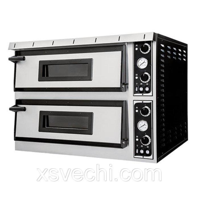 Печь для пиццы Gemlux GEP XL 44, 50-500°С, два модуля
