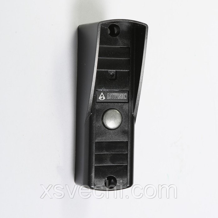 Вызывная панель Activision AVP-505, видео 420 ТВЛ, черная, козырек