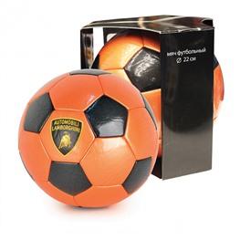 """Мяч футбольный, """"LAMBORGHINI"""" в коробке, оранжевый"""