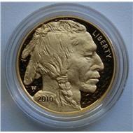 США золото буффало бизон пруф 2010