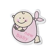 Декоративный элемент New Baby розовый