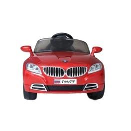 Электромобиль BMW T004TT, красный