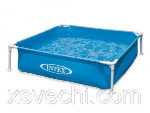 Каркасный бассейн Intex 57173, 122x122x30 см