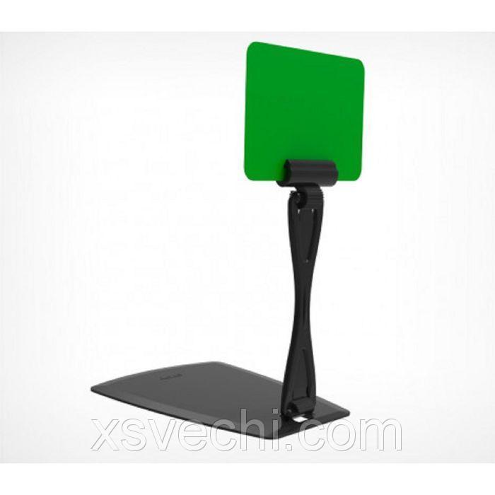 Подставка с изменяемым углом наклона, настольная, пластик, цвет чёрный