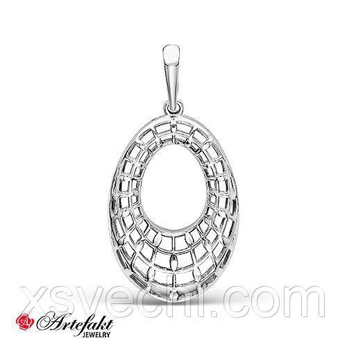 Серебряная подвеска - 485