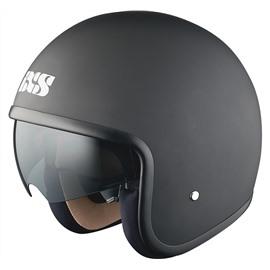 Открытый шлем HX 77 черный матовый XL