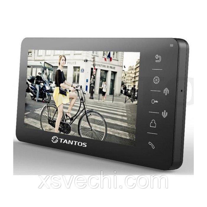 """Монитор видеодомофона Tantos Amelie SD (Black), 7"""", hands free, порт SD, подключение видеокамер   29"""