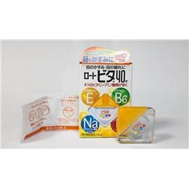 Витаминные капли для глаз Rohto Vita 40а, 12ml