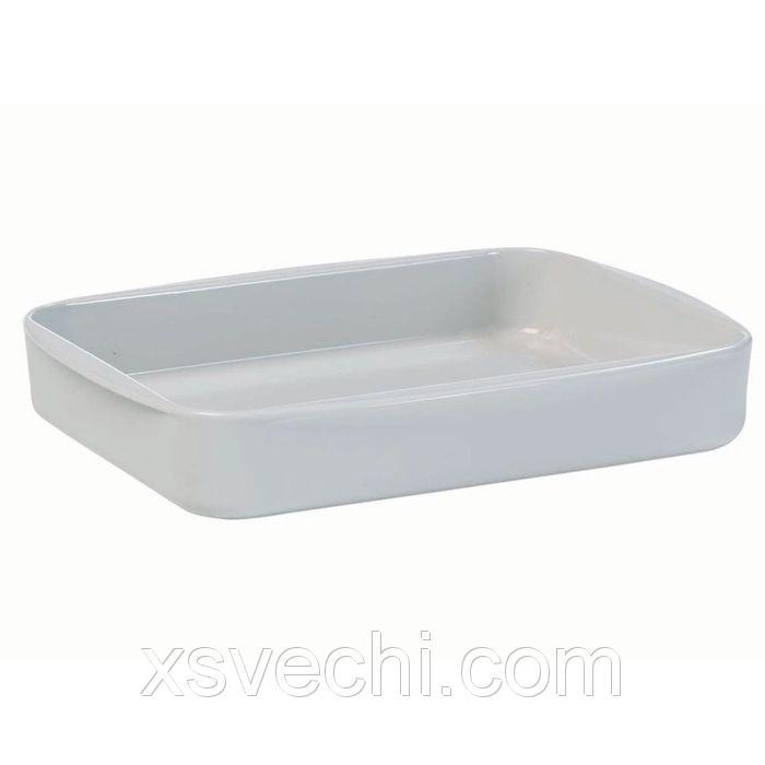 Блюдо для запекания Legio, большое, белое