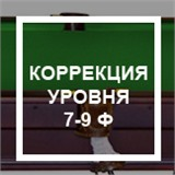 Коррекция уровня (без снятия сукна) 7-9 ф, интернет-магазин товаров для бильярда Play-billiard.ru