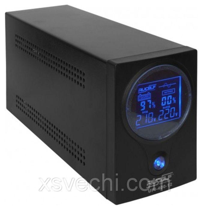 Источник бесперебойного питания RUCELF UPI- 400-12-EL, 400 ВА, 320 Вт, line-interactive
