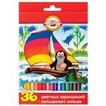 Карандаши цветные KOH-I-NOOR Крот 3,2 мм 36 цветов 3655036026KSRV